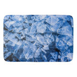 Blue Ice Bathroom Mat