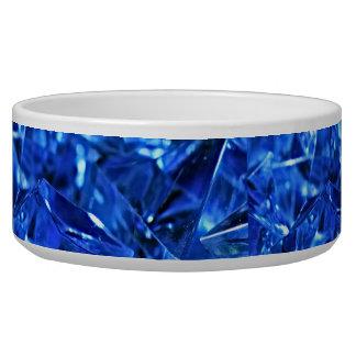 Blue ice bowl