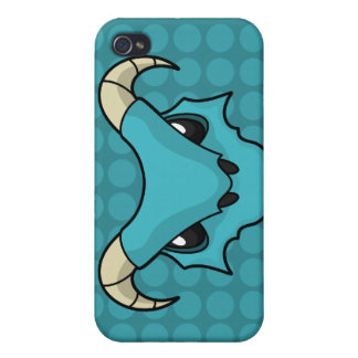 Blue Ice Breathing Dragon iPhone 4/4S Cases