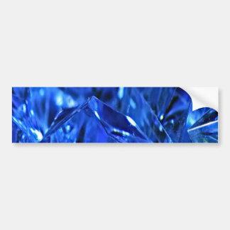 Blue ice bumper sticker