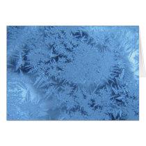Blue ice card