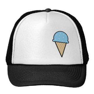 Blue Ice Cream Cone Trucker Hat