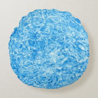 Round Blue Decorative Pillows : Bright Blue Pillows - Decorative & Throw Pillows Zazzle