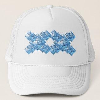 Blue Ice Cubes Trucker Hat