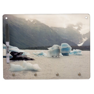 Blue Ice Dry Erase Board With Keychain Holder