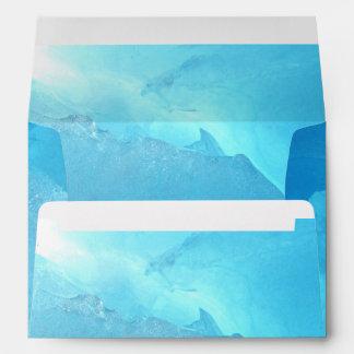 Blue Ice Envelope