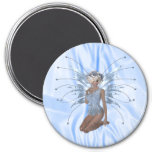 Blue Ice Fairy Magnet Magnets
