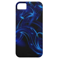 Blue Ice Fractal iPhone 5 Cover