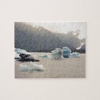 Blue Ice Jigsaw Puzzle