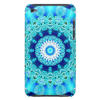 Blue Ice Lace Doily, Abstract Aqua Case-Mate iPod Touch Case
