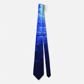 BLUE ICE NECK TIE
