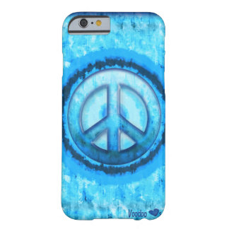 Blue Ice Peace Barely There iPhone 6 Case