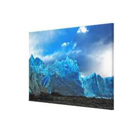 Blue Ice - Perito Moreno Canvas Print