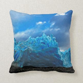 Ice Blue Throw Pillows : Glacier Pillows - Decorative & Throw Pillows Zazzle