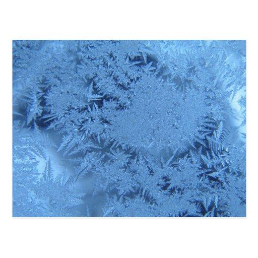 Blue ice postcard