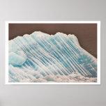 Blue Ice Print