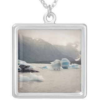 Blue Ice Silver Plated Necklace