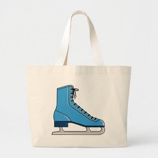 Blue Ice Skate Bags