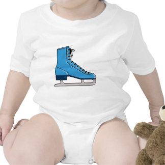Blue Ice Skate Romper
