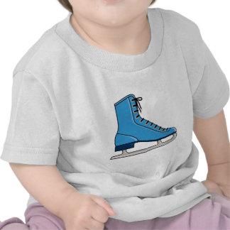 Blue Ice Skate Tshirts