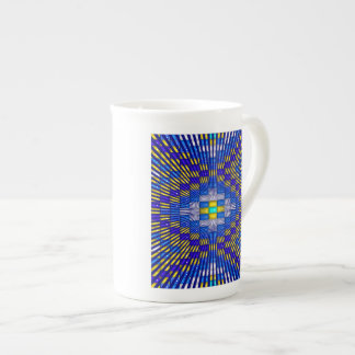 'Blue Ice' Tea Cup