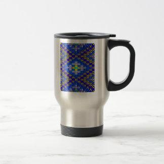 'Blue Ice' Travel Mug