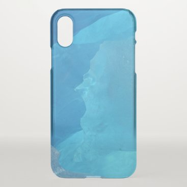 Blue Ice iPhone X Case