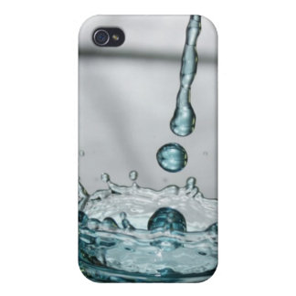 Blue Ice Water Crown iPhone 4 Covers