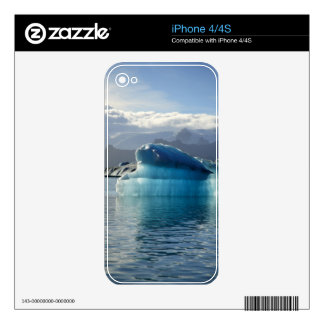 Blue iceberg decals for iPhone 4S