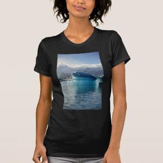 Blue iceberg tee shirt