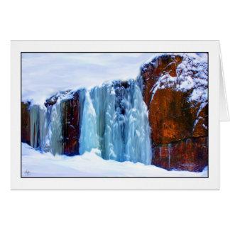 Blue Iceflow Mindscape Card