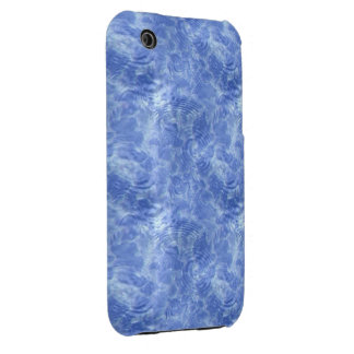 Blue Icey Water iPhone 3 Cover