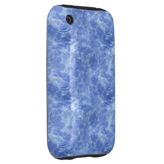 Blue Icey Water Tough iPhone 3 Cases