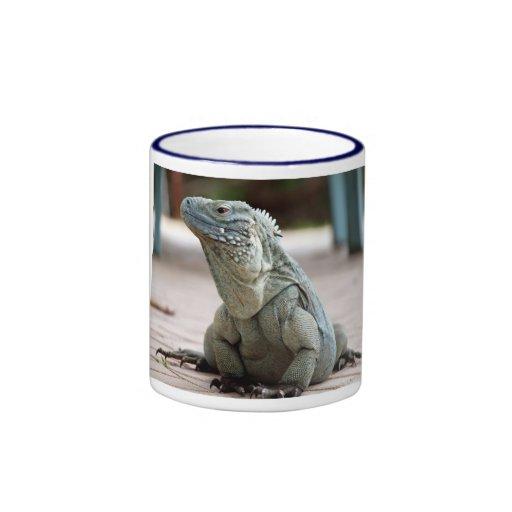 Blue Iguana - Cayman Islands Coffee Mug