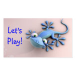 blue iguana mommy calling card business cards