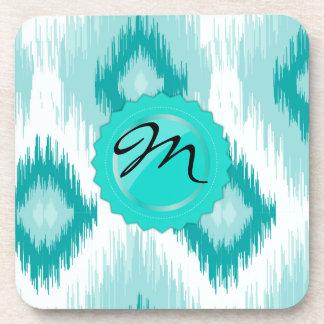 Blue  iKat Beverage Coasters