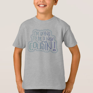 Blue I'm Going to be a Cousin T-Shirt