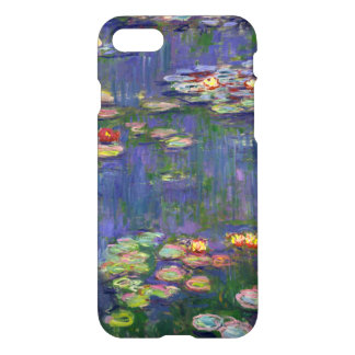 Blue Impressionist Monet Water Lilies iPhone 7 Case