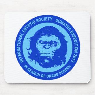 Blue IN SEARCH OF ORANG PENDEK - Sumatra Bigfoot Mouse Pad
