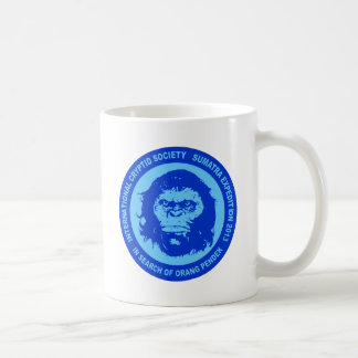 Blue IN SEARCH OF ORANG PENDEK - Sumatra Bigfoot Classic White Coffee Mug