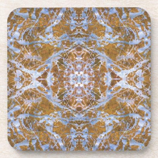 """""""Blue India"""" Coasters"""