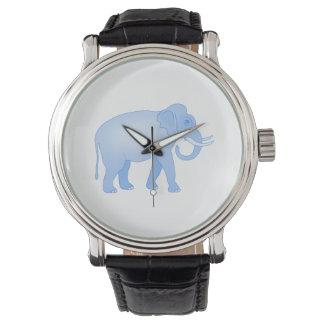 Blue Indian Elephant Wrist Watch