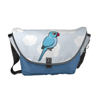 Blue Indian Ringneck Courier Bag