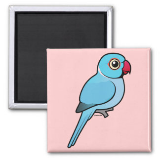 Blue Indian Ringneck Magnet