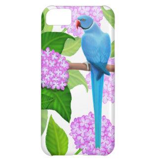 Blue Indian Ringneck Parakeet iPhone Case iPhone 5C Case