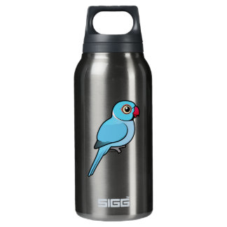 Blue Indian Ringneck 10 Oz Insulated SIGG Thermos Water Bottle