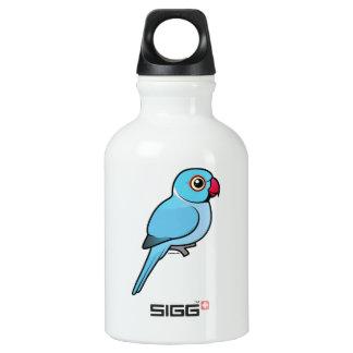 Blue Indian Ringneck Water Bottle