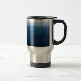 Blue Indigo Ombre Fade. Japanese Art! Travel Mug