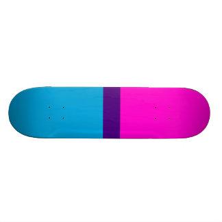 Blue Indigo Rose Skateboard Deck