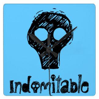 Blue Indomitable Clock